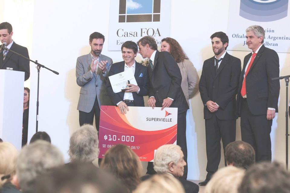 Se realizó la entrega de premios de Casa FOA La Abadía 2014